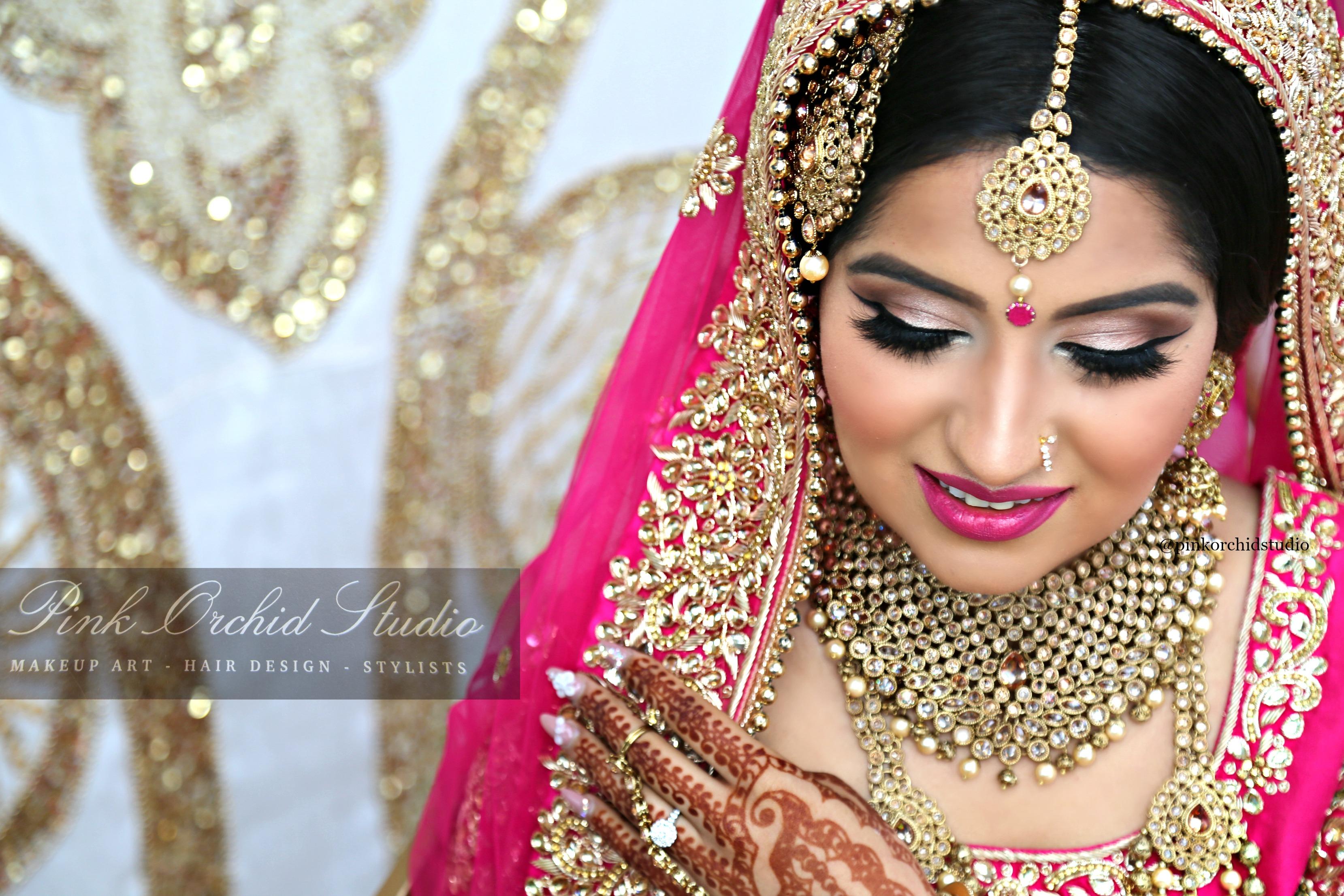 Uzma S Mehndi Makeup : Traditional asian indian bollywood henna mehndi bridal makeup look